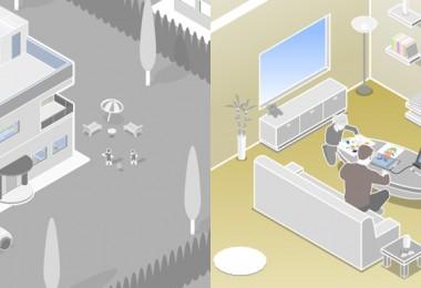 Jan Essig Vektor  Illustration Produkt Einführung